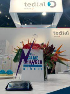 Tedial IABM Game Changer Award 2016