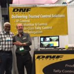 Dan Fogel with customer at the DNF Booth