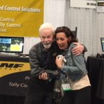 Fred Scott with Catrin Beck at the DNF Booth