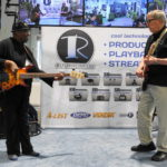 Rush jamming at the RUSHWORKS Booth