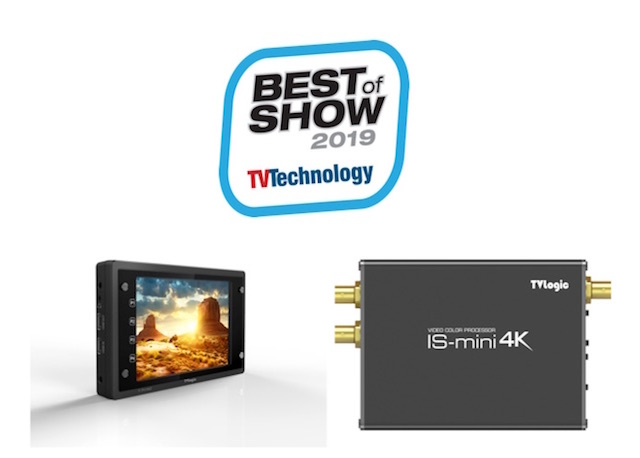 TVLogic wins 2 Best of Show Awards for F-7H mk2 and IS-mini 4K