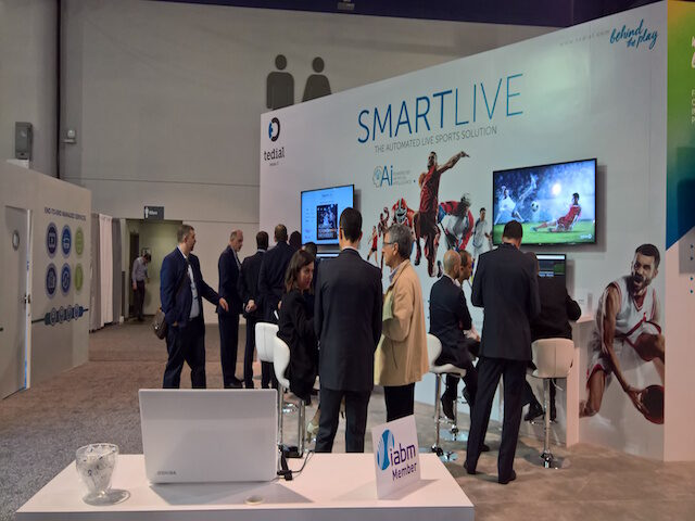 Tedial's SMARTLIVE sports and live events solution.