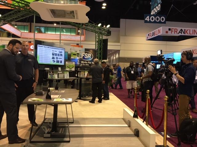 Chaz Porter of FSR being interviewed by AV Nation.