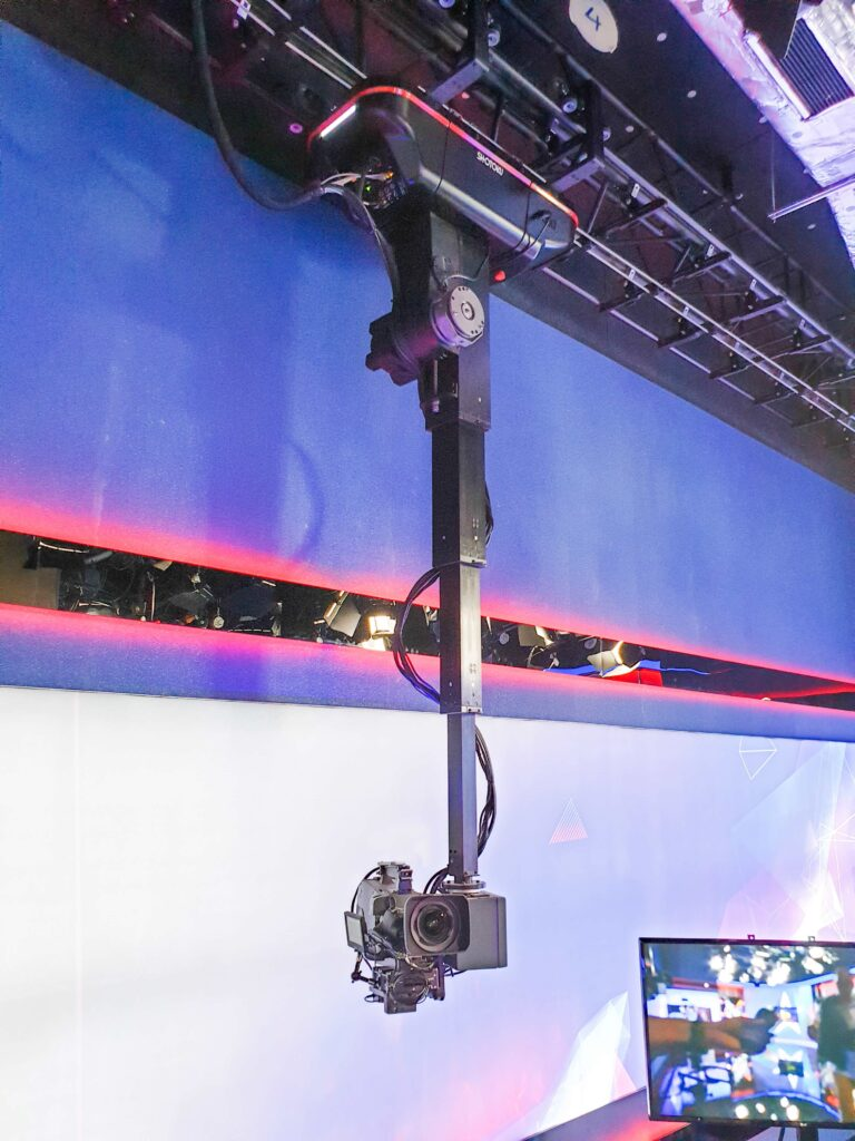 Shotoku Hits The Heights With Ceiling Mounted Rail System And On Air Proven Robotic Pedestal With Unparalleled Control Features Desert Moon